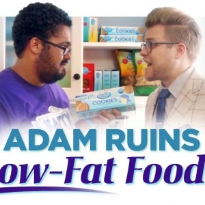 Low-Fat Foods Are Making You Fatter - YouTube